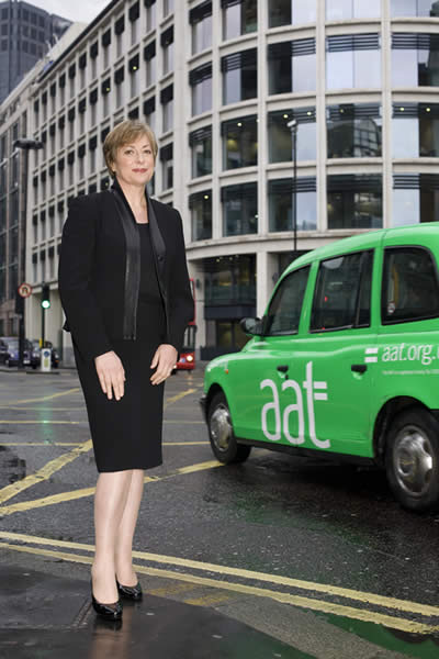 Jane Scott Paul, CEO of AAT