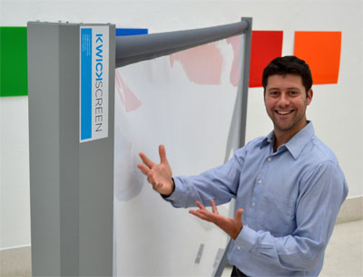 Michael Korn of KwikScreen
