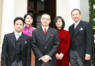 Viet Nam Embassy team