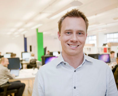 Pontus Noren, co-founder, Cloudreach
