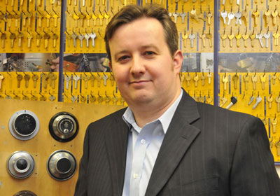 Dr Steffan George, Development Director, Master Locksmiths Association