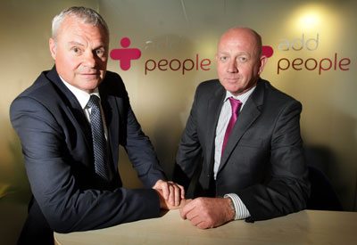 John Spence and Grant Barton, Co-owners of Add People