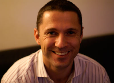 Ben Padley, Global VP and Marketing Director