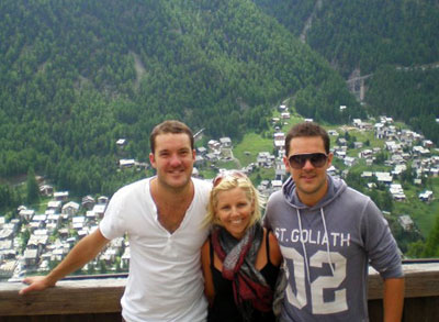 Dan, Rebecca and Sam Frith, SkiBoutique